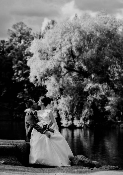черно-белое свадебное фото ad0733bc