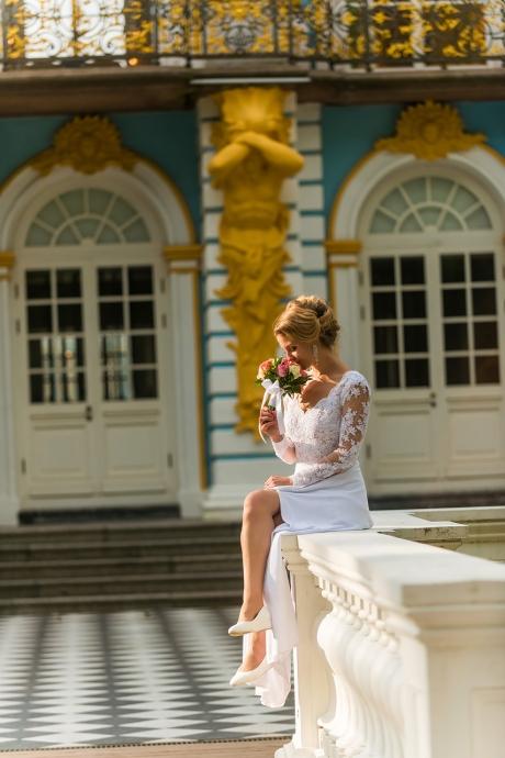 Свадебная фотография от Евгения Сомова свадебного фотографа из СПб - ad9426cf