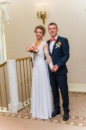 Фото из дворца бракосочетания №3 города Пушкин - жених и невеста