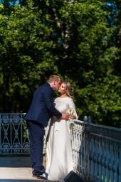Свадебная фотография в СПб на Елагин острове