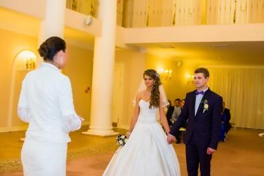 Дворец бракосочетания №3 - торжественная регистрация брака Яны и Романа