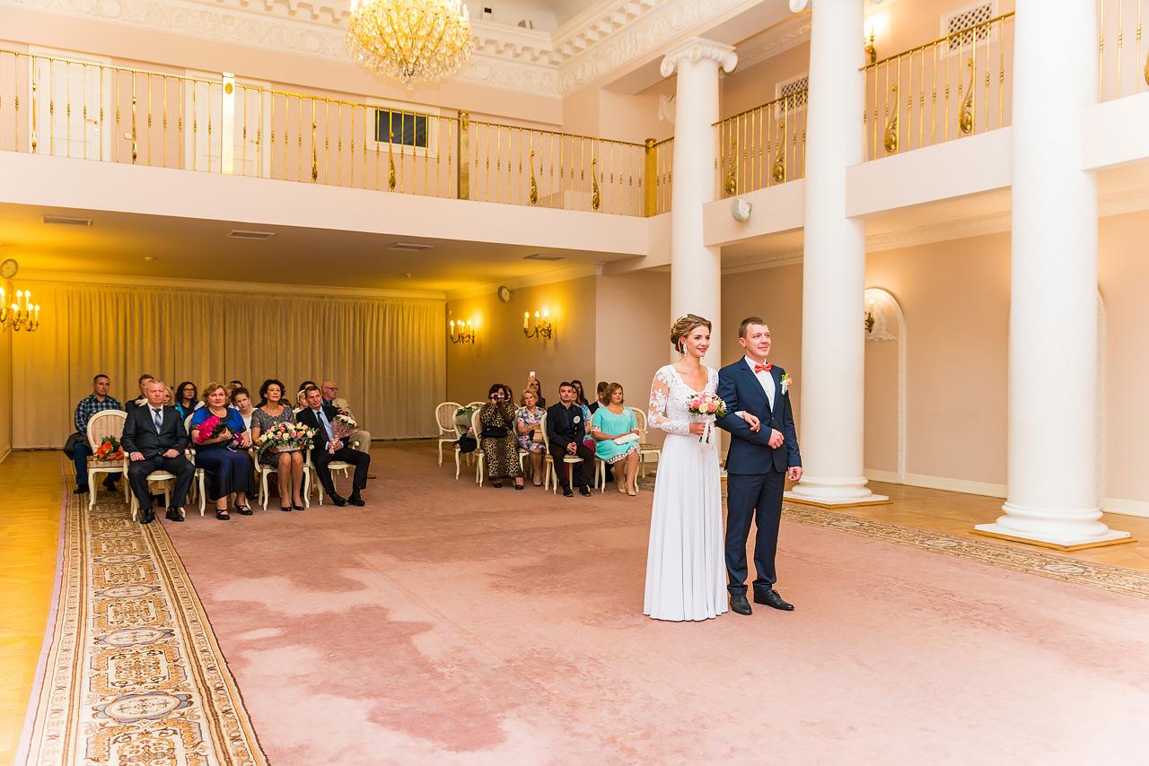 Регистрация брака в Пушкине