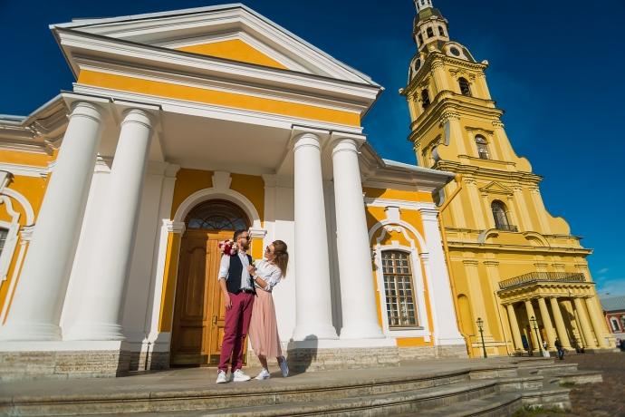 Свадебная фотография от Евгения Сомова свадебного фотографа из СПб - c1a99d8d