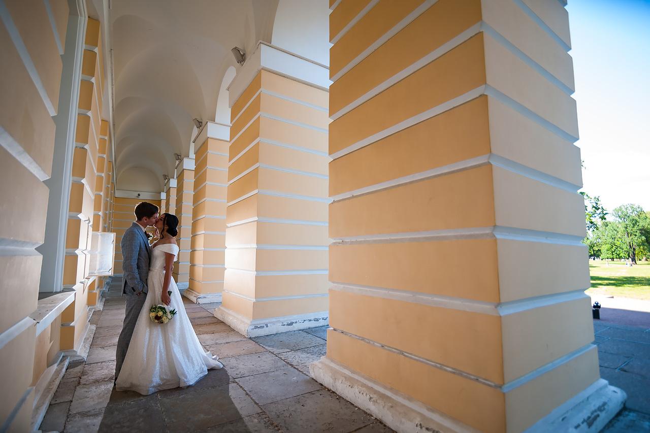 Василий и Ольга в Михайловском дворце