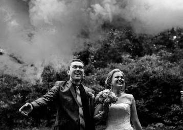 черно-белое свадебное фото 9611dc4f