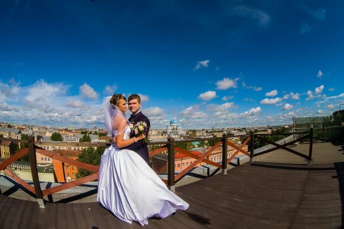 Свадебная фотография в СПб от свадебного фотографа Евгения Сомова - 960ba742