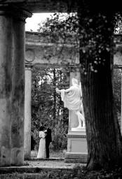 черно-белое свадебное фото 40f680fe