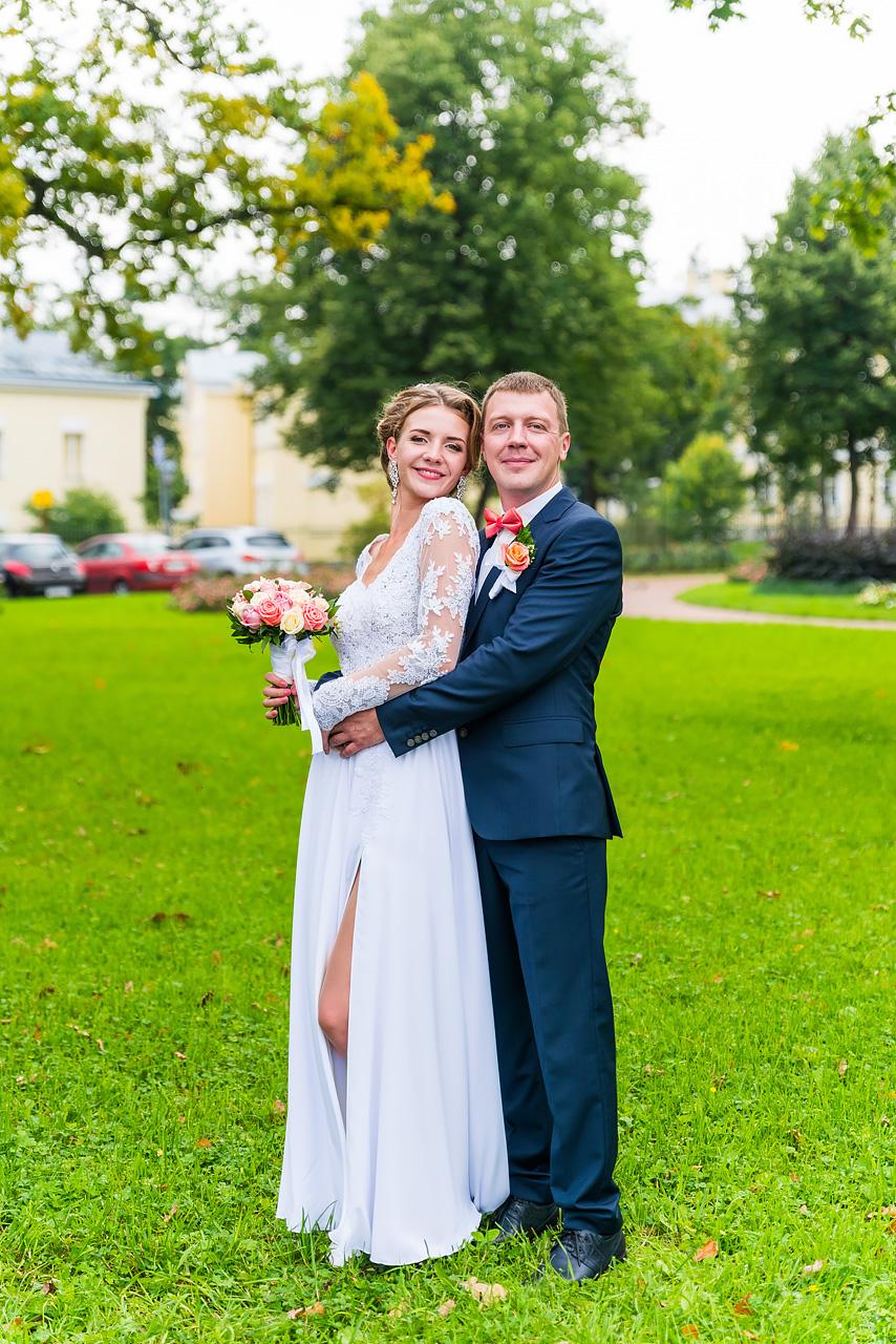 Свадебная фотосессия в Пушкине