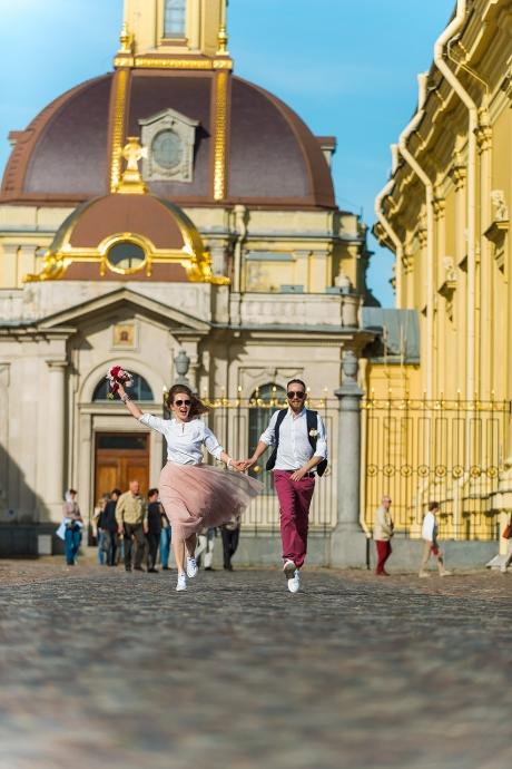 Свадебная фотография от Евгения Сомова свадебного фотографа из СПб - c03a68b5